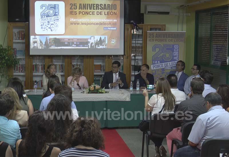 El IES Ponce de León clausuró el 25 aniversario del centro educativo