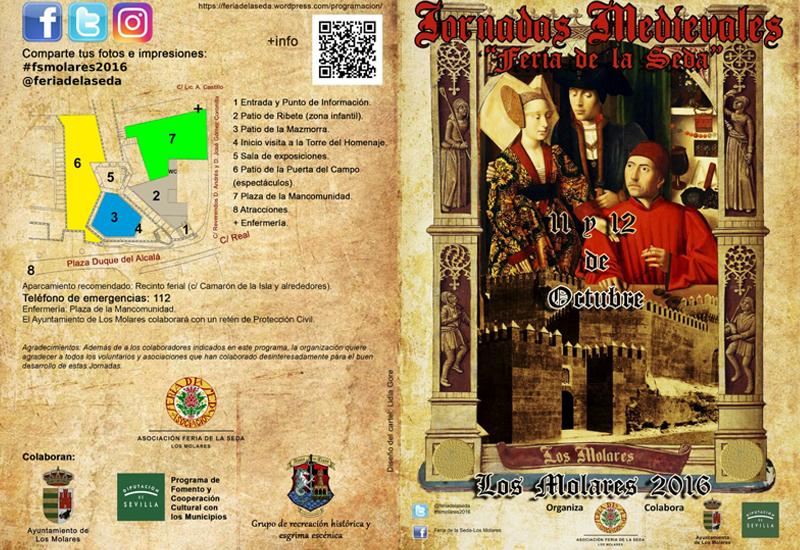 """Los Molares celebra las Jornadas Medievales """"Feria de la Seda"""" este 11 y 12 de octubre"""