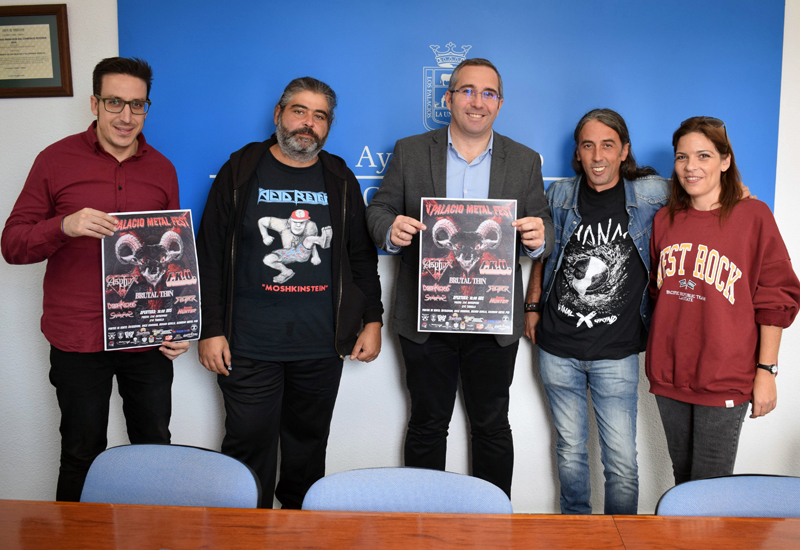 EL V PALACIO METAL FEST CONTARÁ CON UN CARTEL DE BANDAS INTERNACIONALES DE PRIMER NIVEL