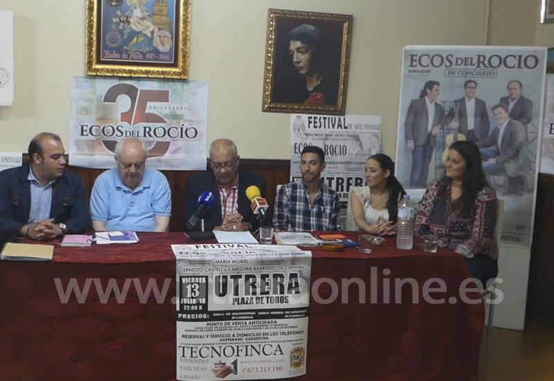 EL FESTIVAL DEL ARTE ANDALUZ REGRESA ESTE VIERNES A UTRERA DE LA MANO DE LA HERMANDAD DE LA QUINTA ANGUSTIA