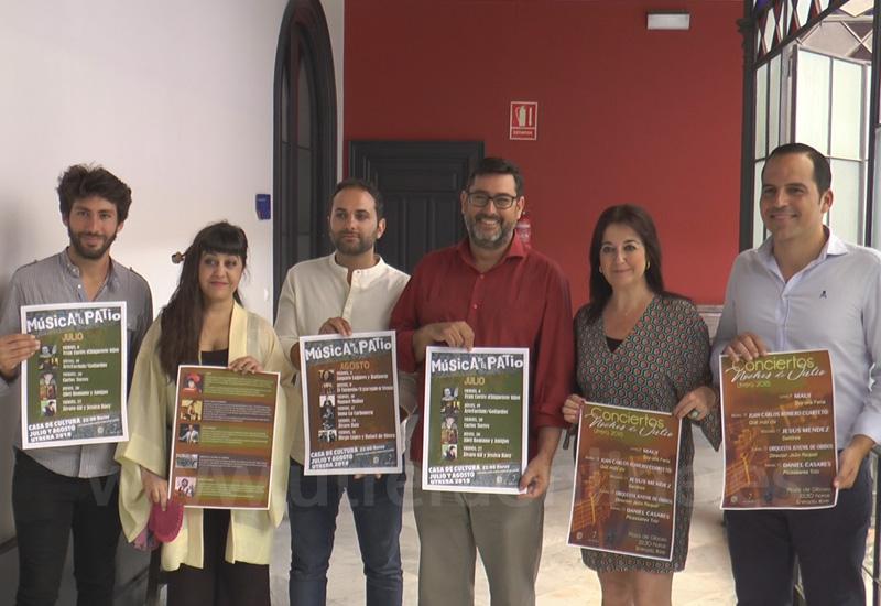 LA MÚSICA PROTAGONIZA GRAN PARTE DE LAS ACTIVIDADES CULTURALES DE LOS MESES DE JULIO Y AGOSTO EN UTRERA