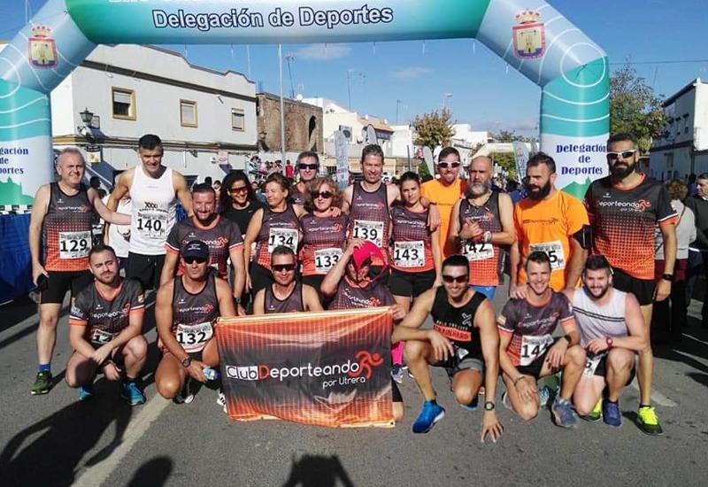 Deporteando por Utrera, segundo club más atletas en meta de la XXXI Carrera Urbana Rafael del Riego