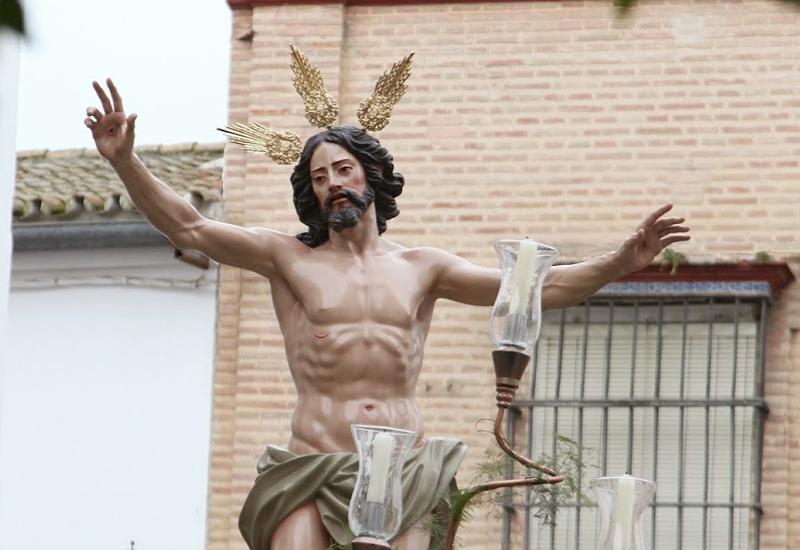 LA IMAGEN DEL RESUCITADO DE UTRERA SERÁ BENDECIDA EL 25 DE JULIO EN LA PARROQUIA DE SANTIAGO