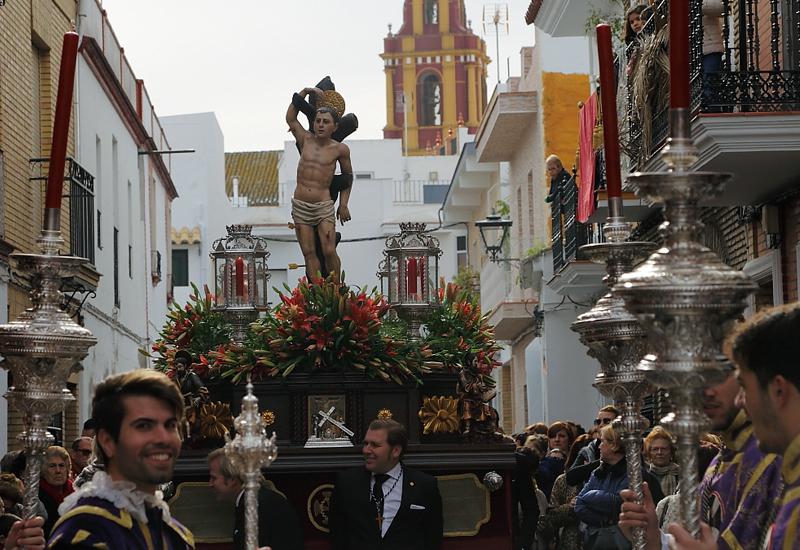 EL PATRÓN DE LOS PALACIOS Y VILLAFRANCA, SAN SEBASTIÁN, SALDRÁ EN PROCESIÓN EL 20 DE ENERO CON MOTIVO DE SU FESTIVIDAD