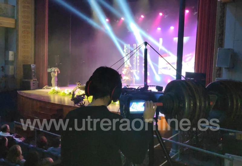 UVITEL TV GRABÓ EN EL TEATRO MUNICIPAL ENRIQUE DE LA CUADRA LA GALA DEL DÍA DE ANDALUCÍA PARA TODAS LAS TELEVISIONES LOCALES DE ACUTEL