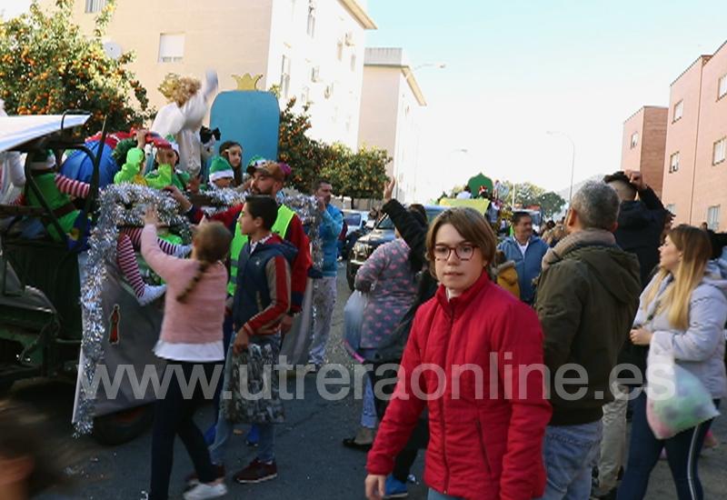 LA BARRIADA EL TINTE TUVO SU CABALGATA DE REYES MAGOS MÁS SOLIDARIA