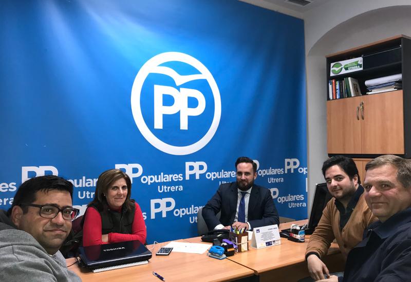 """EL GRUPO MUNICIPAL POPULAR SE REÚNE CON LA ASOCIACIÓN CULTURAL TAURINA """"CURRO GUILLÉN"""" PARA RECOGER SUS INQUIETUDES"""